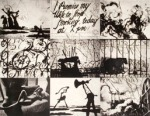 60. William Kentridge, Zero Writing (Nine Prints on One Sheet)